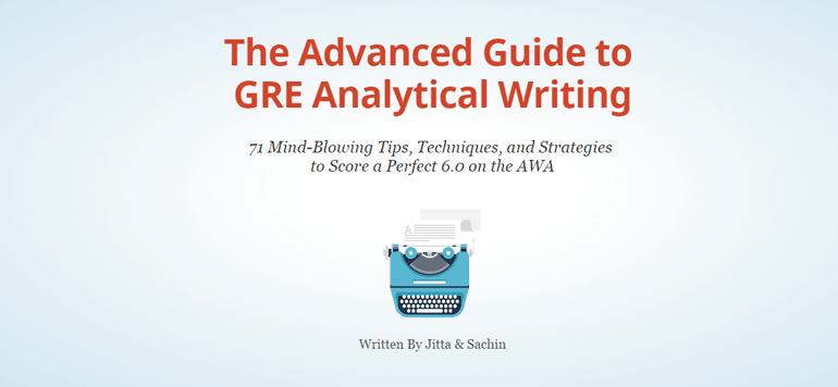 the advanced guide to gre analytical writing gre